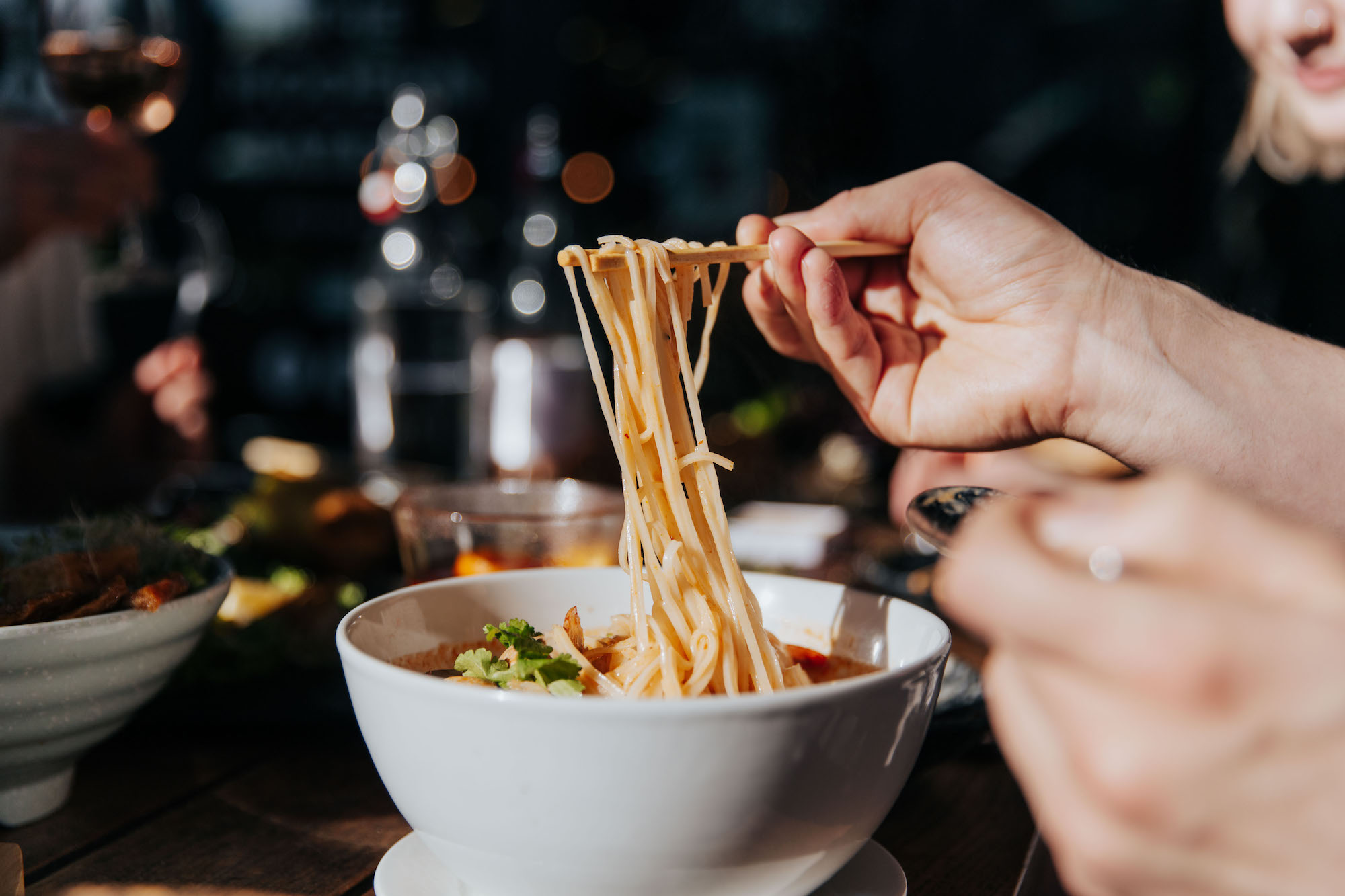 Noodles at Little High Eatery